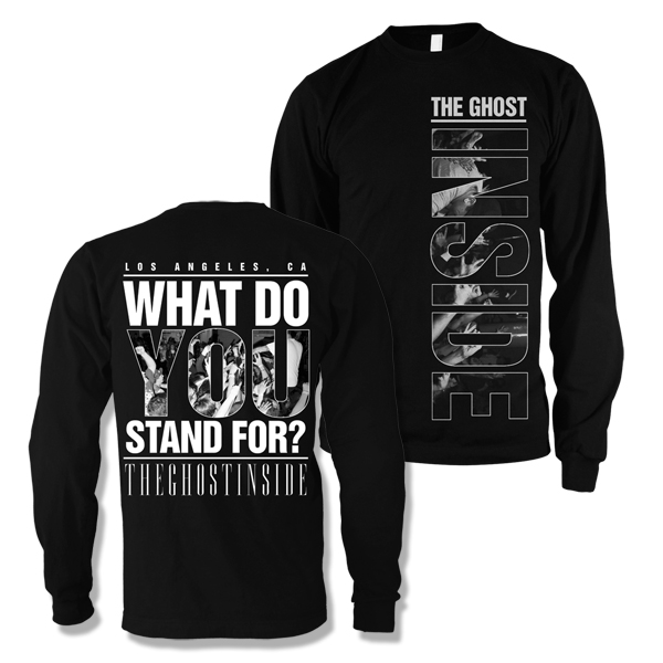 IMAGE   What Do You Stand For Crewneck (Black)