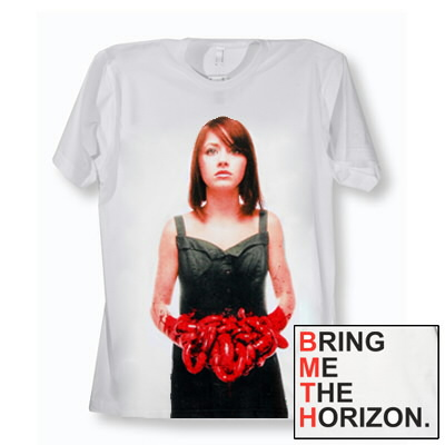Red Suicide Season Shirt (White)