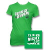 IMAGE | DKM End of the Night Womens Tee - detail 1