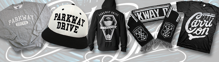 IMAGE | Parkway Drive - New Items!