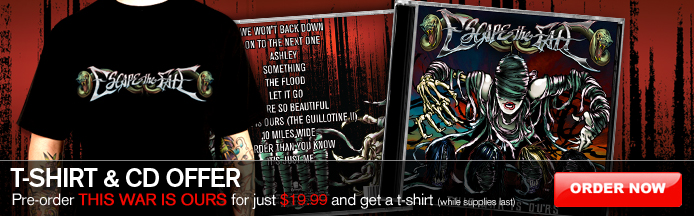 escape fate flood. Pre-Order Escape The Fate