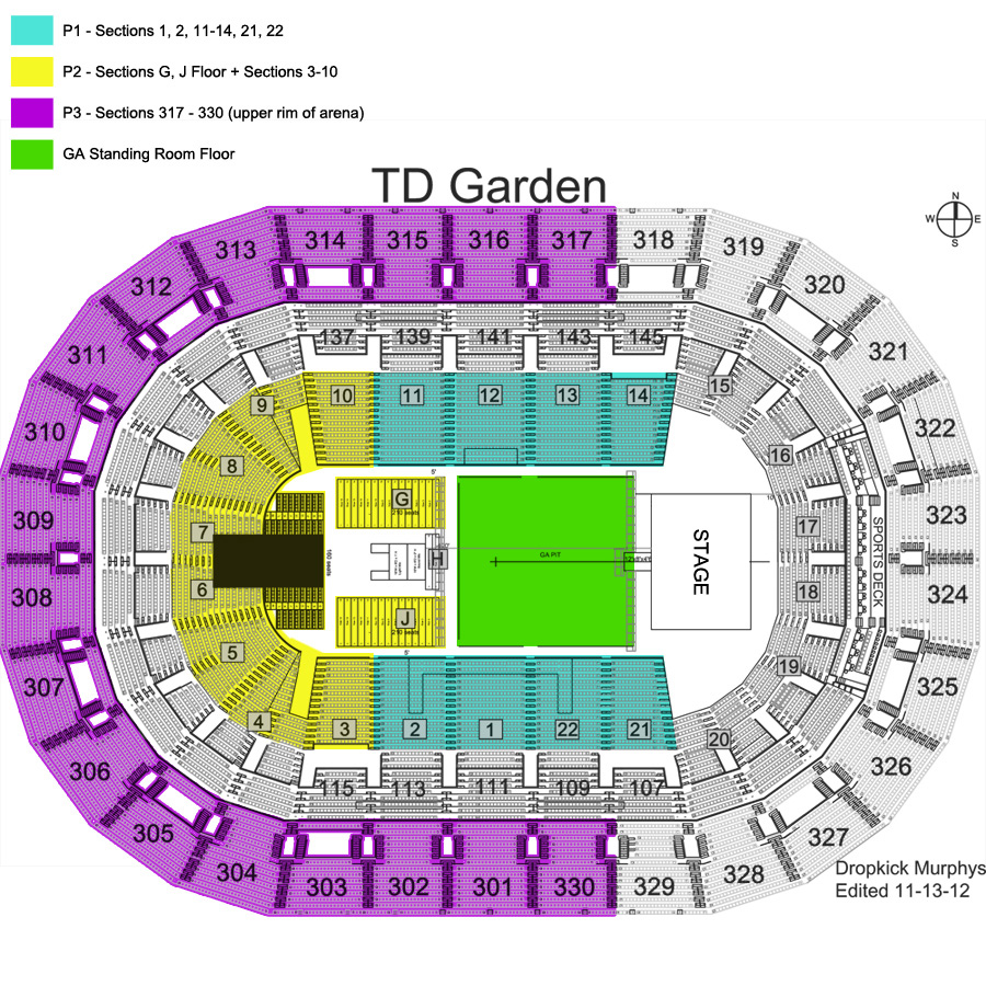 Td Garden Seating Map My Blog