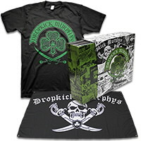 IMAGE | Dropkick Murphys - DKM Vinyl Box Set (Clear) & Celtic Swords Tee - Mens