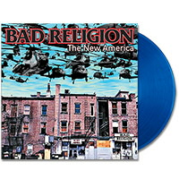 IMAGE | Bad Religion - The New America - Blue LP - (EU Import)