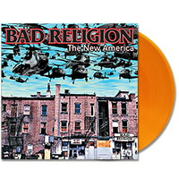 IMAGE | Bad Religion - The New America - LP Translucent Orange (EU Import