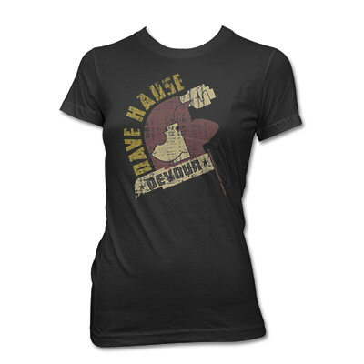dave-hause - Open Mouth Tee - Women's