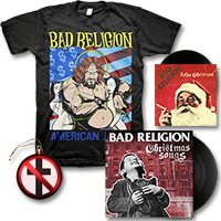 IMAGE | Bad Religion - Christmas Songs LP - (Black) Bundle