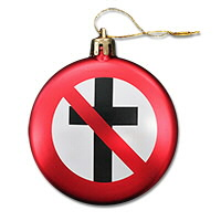 IMAGE | Bad Religion - Crossbuster Tree Ornament