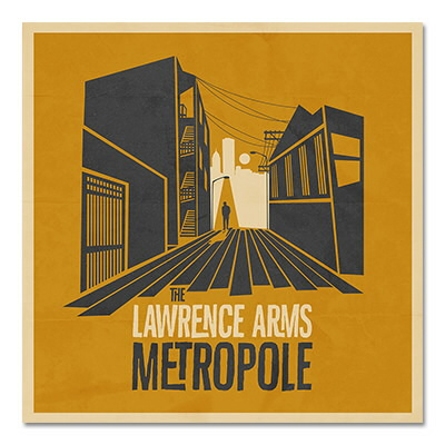 IMAGE | The Lawrence Arms - Metropole - CD