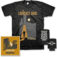 IMAGE | The Lawrence Arms - Metropole CD & Tee Bundle