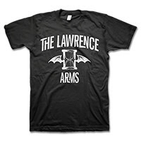 IMAGE | The Lawrence Arms - Flappy Tee - Black