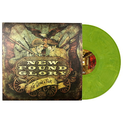 New Found Glory - Not Without A Fight LP - Green - Green