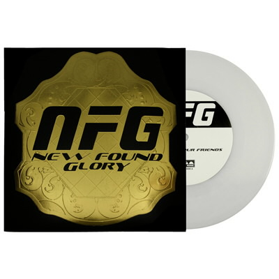 "New Found Glory - Listen To Your Friends 7"" - White"