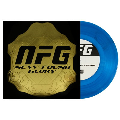 "New Found Glory - Listen To Your Friends 7"" - Blue"
