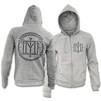 IMAGE | The Menzingers - Arrow Monogram Zip-Up