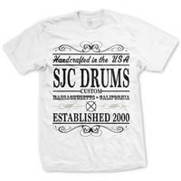 IMAGE | SJC Drums - Handcrafted Tee - White