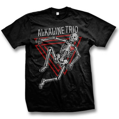 alkaline-trio - Skeleton Tee - Men's