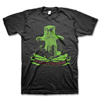 IMAGE | Off With Their Heads - Catzilla (Red/Green) T-Shirt