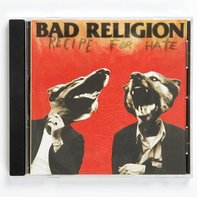 Bad Religion - BR Recipe for Hate CD