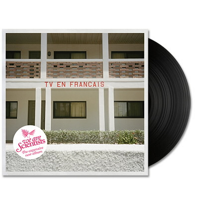 We Are Scientists - TV En Français LP - Black
