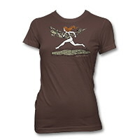 IMAGE | Neko Case - On The Run Womens T-Shirt