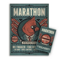 IMAGE | Marathon - Ticket And Poster