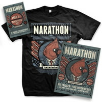 IMAGE | Marathon - Ticket, Poster, and Men's Tee