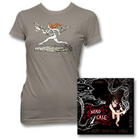 IMAGE | Neko Case - The Worse Things Get... Deluxe CD & On The Run Tee-Women's