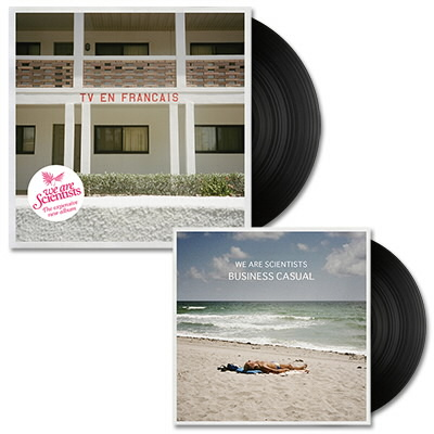 We Are Scientists - TV En Français - LP (Black) & Business Casual 10""