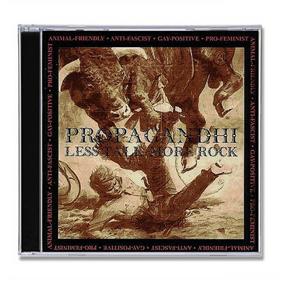 propagandhi - Less Talk More Rock CD