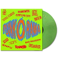 IMAGE | Punk O Rama - Volume 1 LP - (Punk Green)