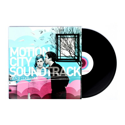 Motion City Soundtrack - Even If It Kills Me LP (Black)