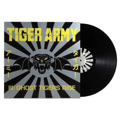 Tiger Army - LP-III: Ghost Tigers Rise - Black