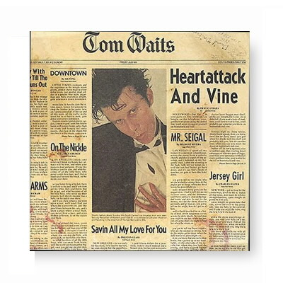 Tom Waits - Heartattack & Vine CD