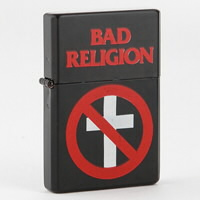 IMAGE | Bad Religion - BR Cross Buster Refillable Lighter - Lighter