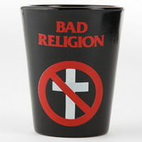 IMAGE | Bad Religion - BR Cross Buster Shot Glass - Shot Glass