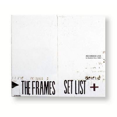 The Frames - Set List CD