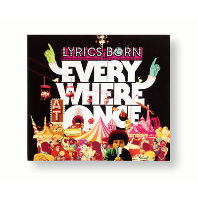 Lyrics Born - Everywhere At Once CD