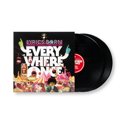 Lyrics Born - Everywhere At Once - 2xLP