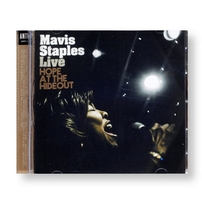 Mavis Staples - Live: Hope At The Hideout - CD