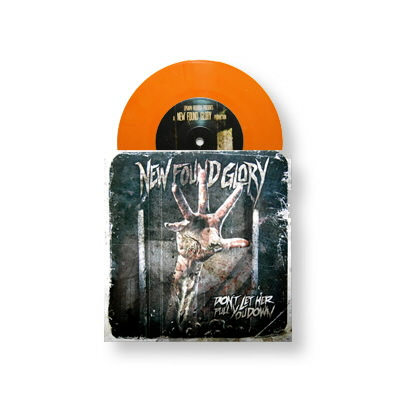 "New Found Glory - Don't Let Her Pull You Down 7"" (Orange)"