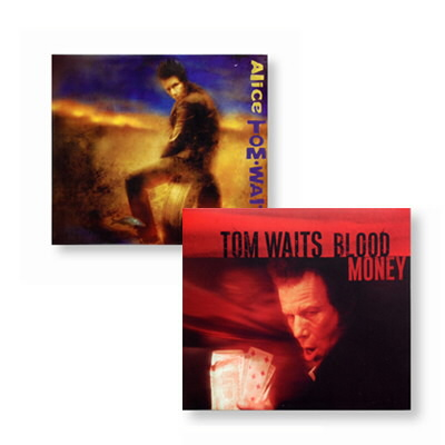 Tom Waits - Alice & Blood Money CD Bundle