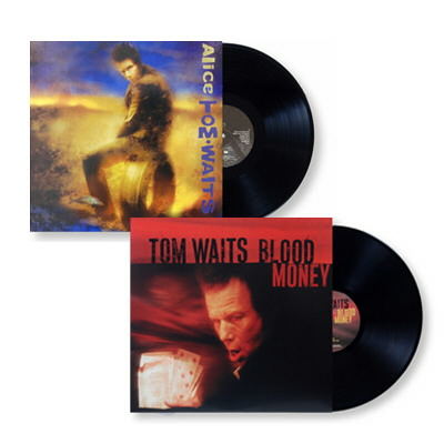 Tom Waits - Alice & Blood Money LP Bundle