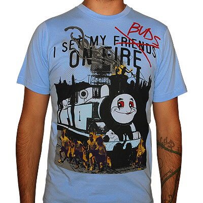 I Set My Friends On Fire - Set My Buds On Fire (Thomas the Train) Shirt