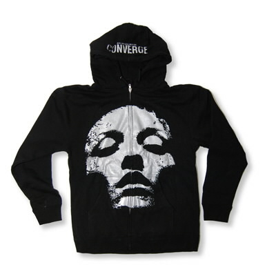 Converge - Silver Jane Doe Zip Up Hoodie