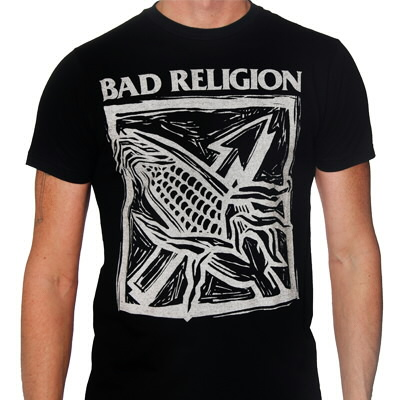 Bad Religion - Against The Grain Black Tee