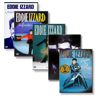 Eddie Izzard - Eddie Izzard 5 DVD Bundle