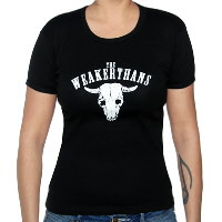 IMAGE | The Weakerthans - Girl's Cow Skull Tee