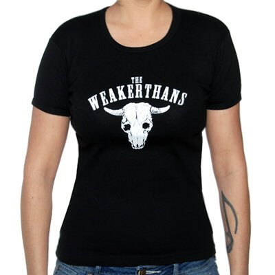The Weakerthans - Girl's Cow Skull Tee
