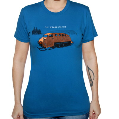 The Weakerthans - Girl's Bombardier Shirt